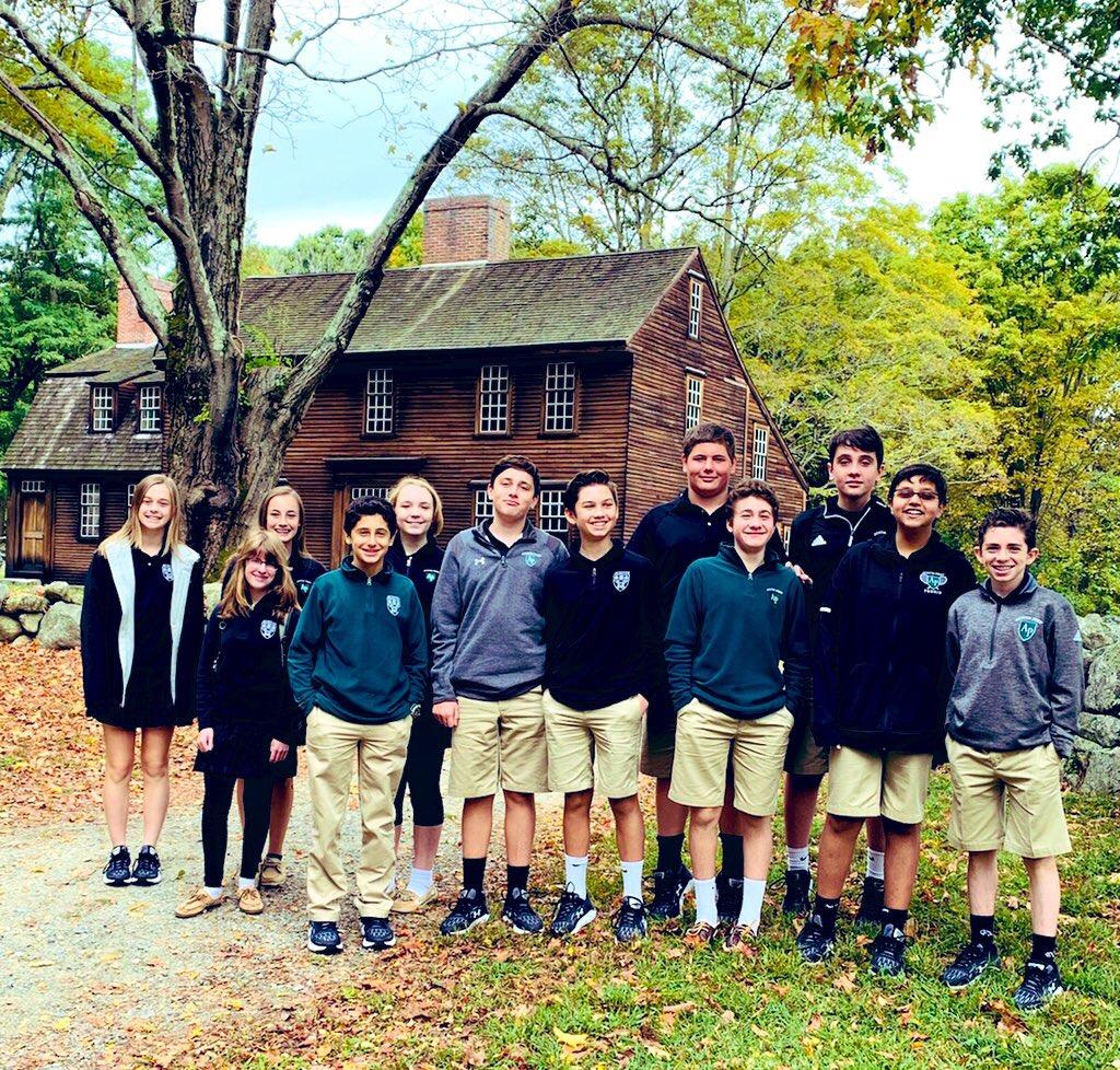 Students on a fieldtrip to Lexington