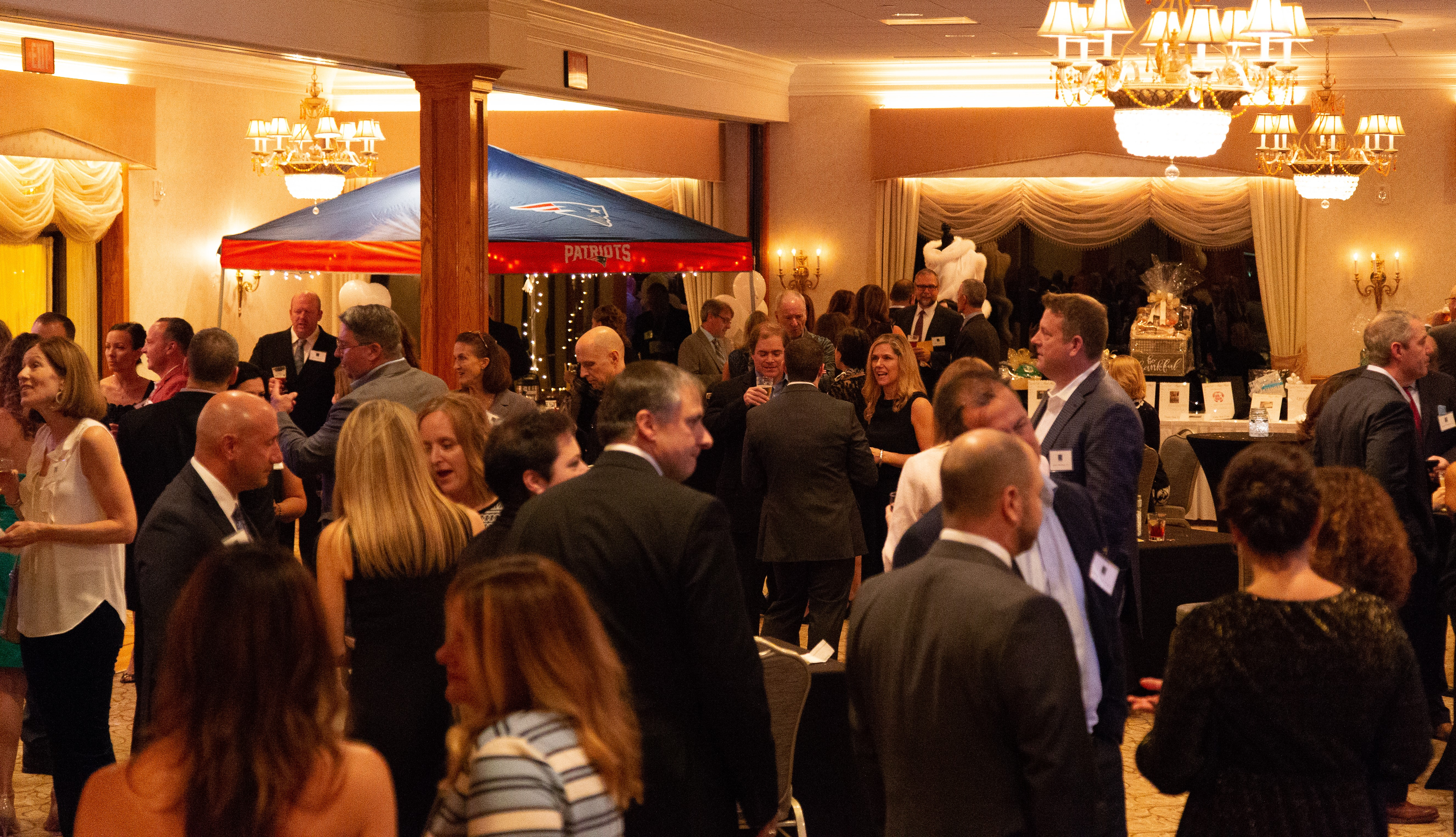 Attendees at the Signature Event
