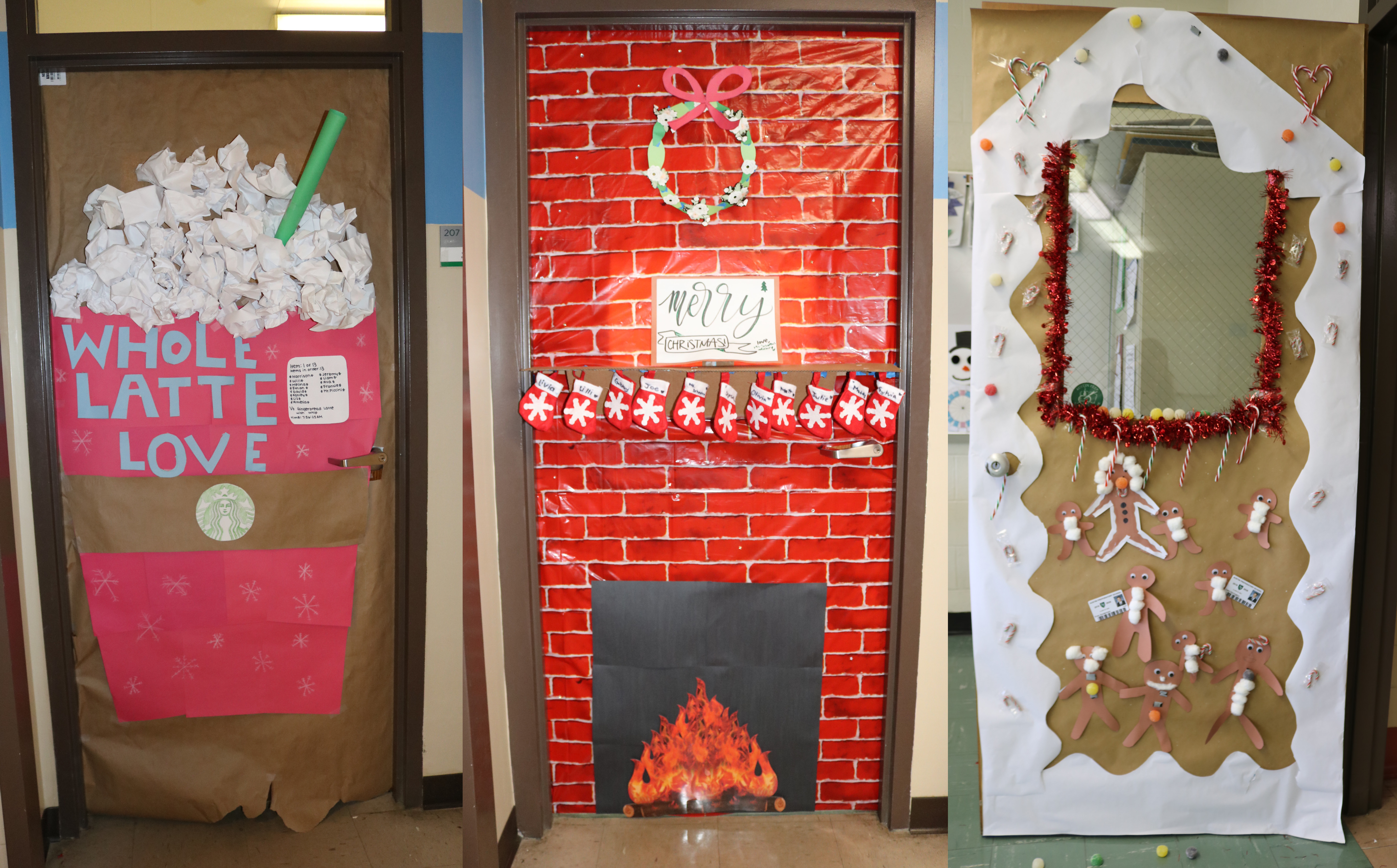 Annual Christmas Door Decorating